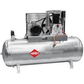 Compresseur G 1500-500 Pro 11 bar 10 cv/7.5 kW 859 l/min 500 L Cuve galvanisée