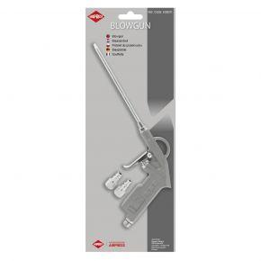 Soufflette bec long 160 mm Aluminium 6 bar + Raccord - Sous blister
