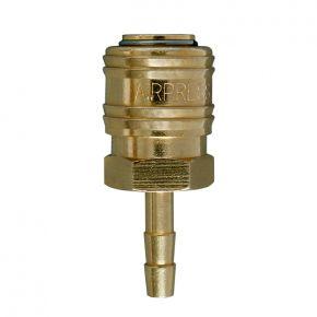 Raccord rapide Euro pour tuyaux 6 mm - Sous blister