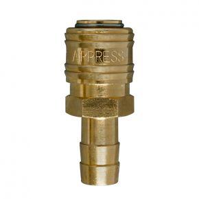 Raccord rapide Euro pour tuyau 12 mm - Sous blister