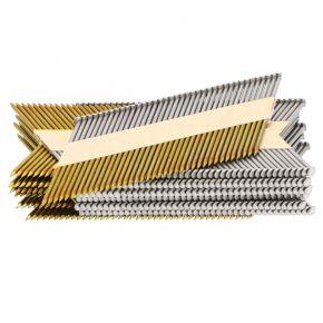 Clous en bande (FN34) x500 34° 2.9x75 mm Diam.1.5x1.26 mm