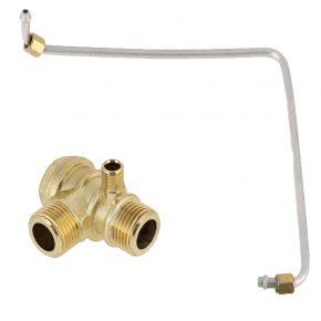 Kit tuyau de refoulement et clapet anti-retour pour compresseur HL 360-50