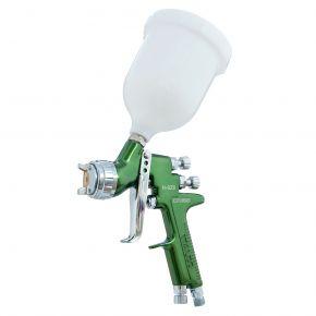 Pistolet à peinture HVLP Buse 1,2 mm 2 bar Godet 600 ml 340-400 l/min