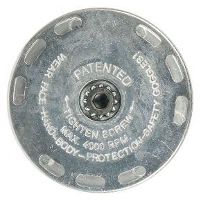 Plateau support pour brosse 11 mm 45429