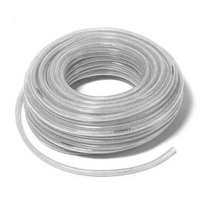 Tuyau PVC Nylon tressé 13 x 19 mm 50 m 10-20 Bar
