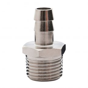 "Embout tuyau air comprimé 10 mm Filetage 1/2"" Mâle"