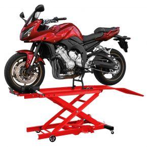 Pont moto hydraulique 360 kg avec pédale