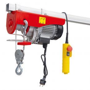 Treuil / Palan électrique 495/999 kg 10-5 m/min 12 m 1.6 kW