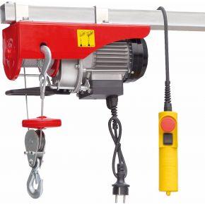 Treuil / Palan électrique 125/250 kg 10-5 m/min 12 m 0.5 kW