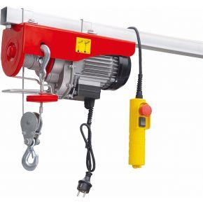 Treuil / Palan électrique 200/400 kg 10-5 m/min 12 m 0.88 kW