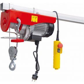 Treuil / Palan électrique 300/600 kg 10-5 m/min 12 m 1.15 kW
