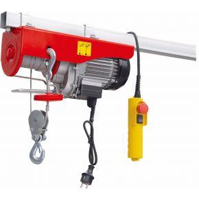 Treuil / Palan électrique 400/800 kg 10-5 m/min 12 m 1.3 kW