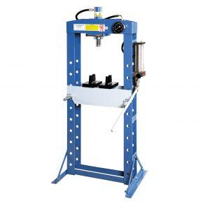 Presse hudraulique d'atelier 20 tonnes 10 positions longueur de course 190 mm