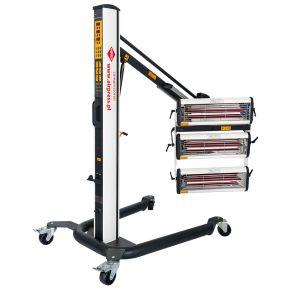Sécheurs infrarouges 3x1000W avec capteur de distance