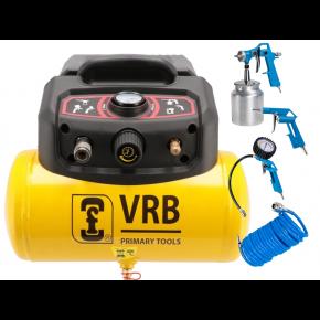 Mini Compresseur 8LC6-1.5 VRB 8 bar 1.5 ch/1.1 kW 129 l/min 6 L Plug & Play