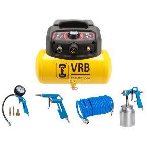 Compresseur 8LC6-1.5 VRB 8 bar 1.5 cv 180 l/min 6 l Plug & Play Pack