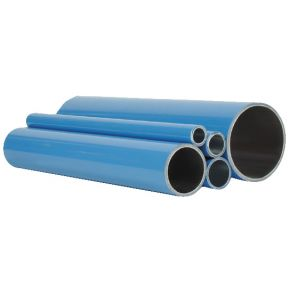 Tube en aluminium pour air comprimé 25 x 1.4 mm 4 m