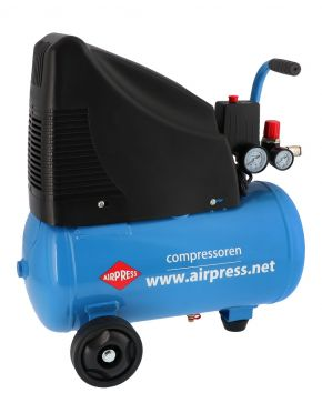Compresseur HLO Sans Huile 215-25 8 bar 1.5 cv 172 l/min 24 l