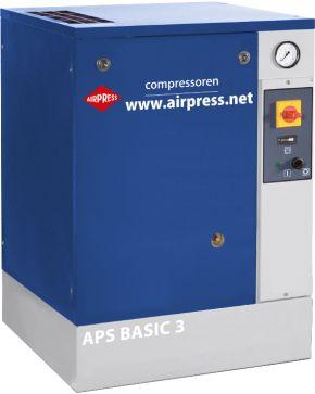 Compresseur à vis APS 3 Basic 10 bar 3 cv 240 l/min
