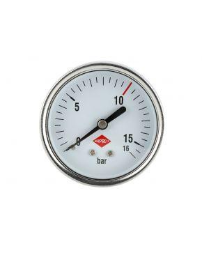 "Manomètre arr 1/4"" 16 bar ext 63 mm"